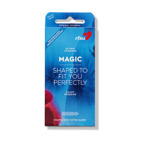 RFSU Magic 20, anatomically formed condom